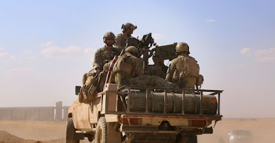 tentara amerika di utara aleppo