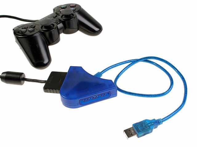 How To Connect a PS2 Controller To PC/Laptop With Using an