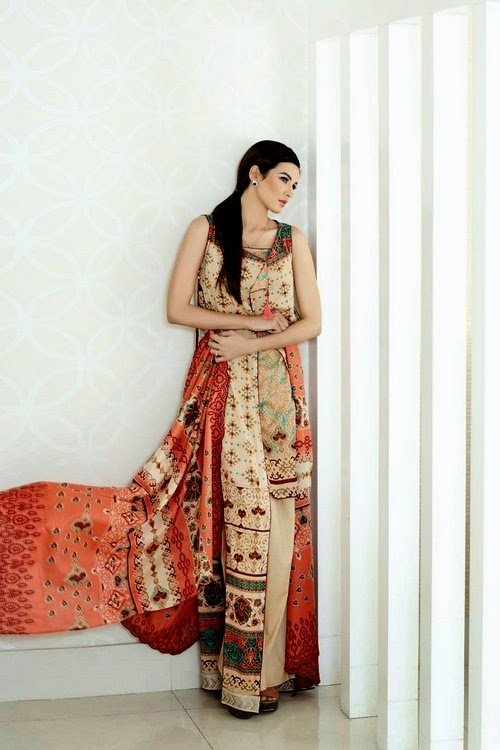 Firdous Fashion Embroidered Eid Collection