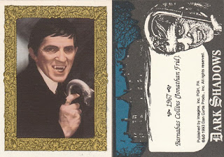 Barnabas Collins with cane trading card from Dark Shadows 1993 set