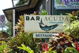 Kauai Bar Acuda Restaurant