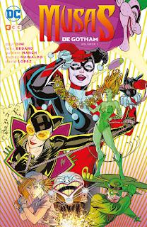 """Reseña de """"Musas de Gotham #1"""" de Paul Dini y Tony Bedard - ECC Ediciones"""