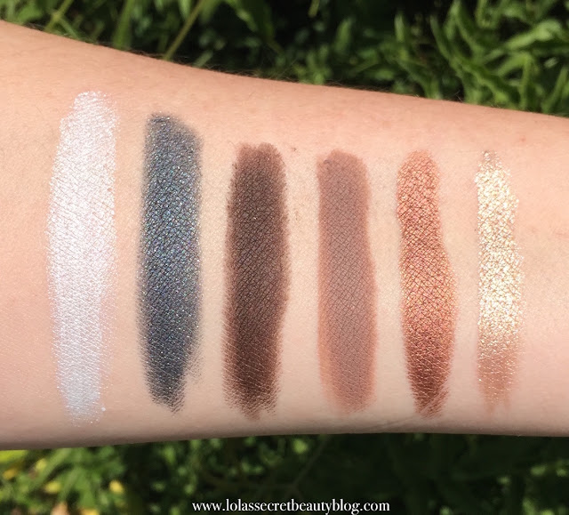 f63d64a975c Available Shades: Scandaleyes Eye Shadow Stick Whiteness White, Guilty  Grey, Bulletproof Beige, Bad Girl Bronze, Blackmail, Paranoid Purple  (Shown), ...
