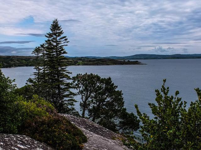 Bantry Bay views from Garnish Island, Co.Cork.
