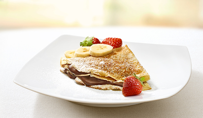 Ingrediente Nutella – Crepes alla Nutella e Frutta