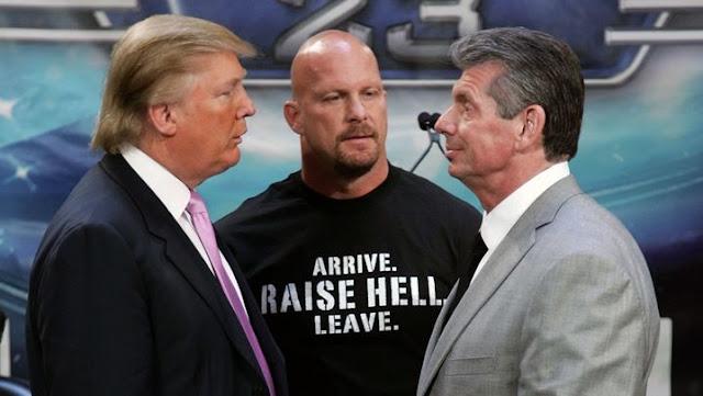 donald trump gelut gulat wrestling