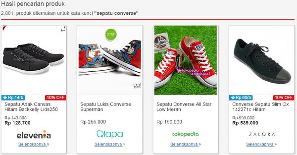 Sepatu Converse di Telunjuk.com