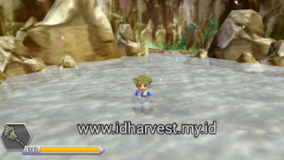 Pemandian Air Panas di Harvest Moon: Innocent Life