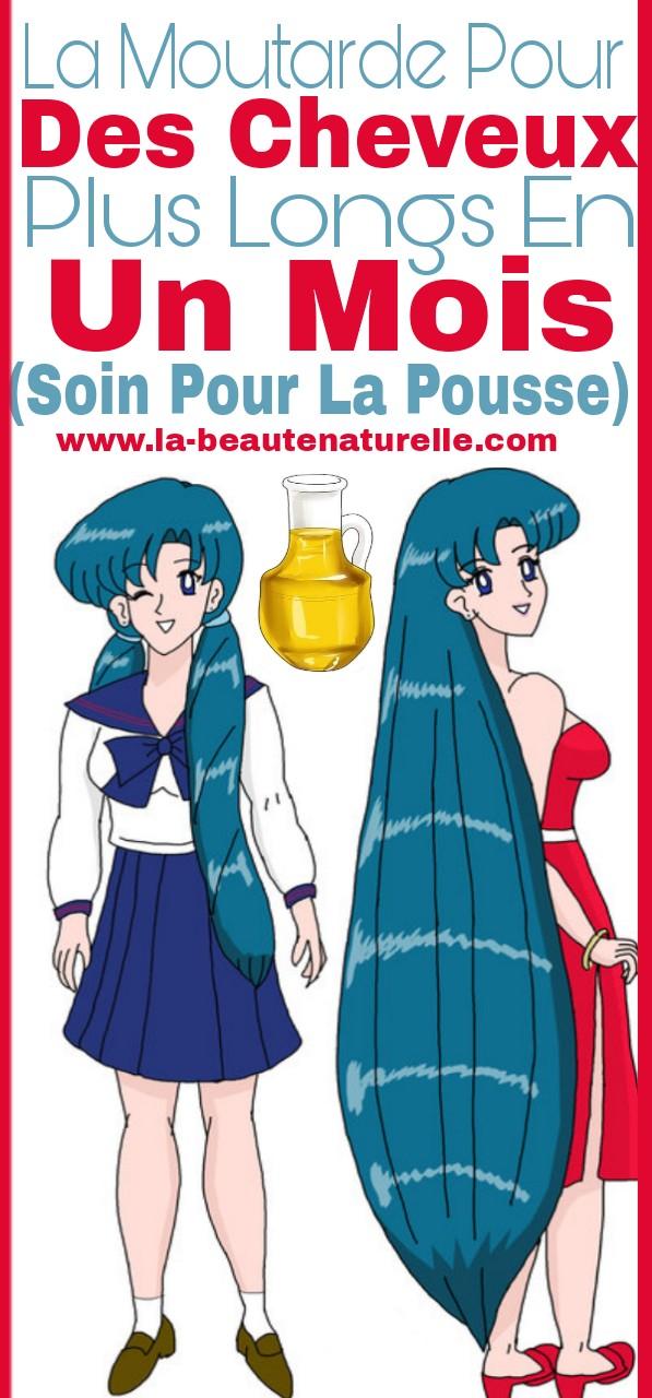 La moutarde pour avoir des cheveux plus longs en un mois (soin pour la pousse)