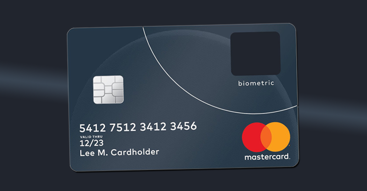Mastercard-fingerprint-payment-card