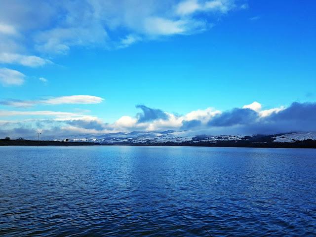 photo of Czorsztyn lake in Winter