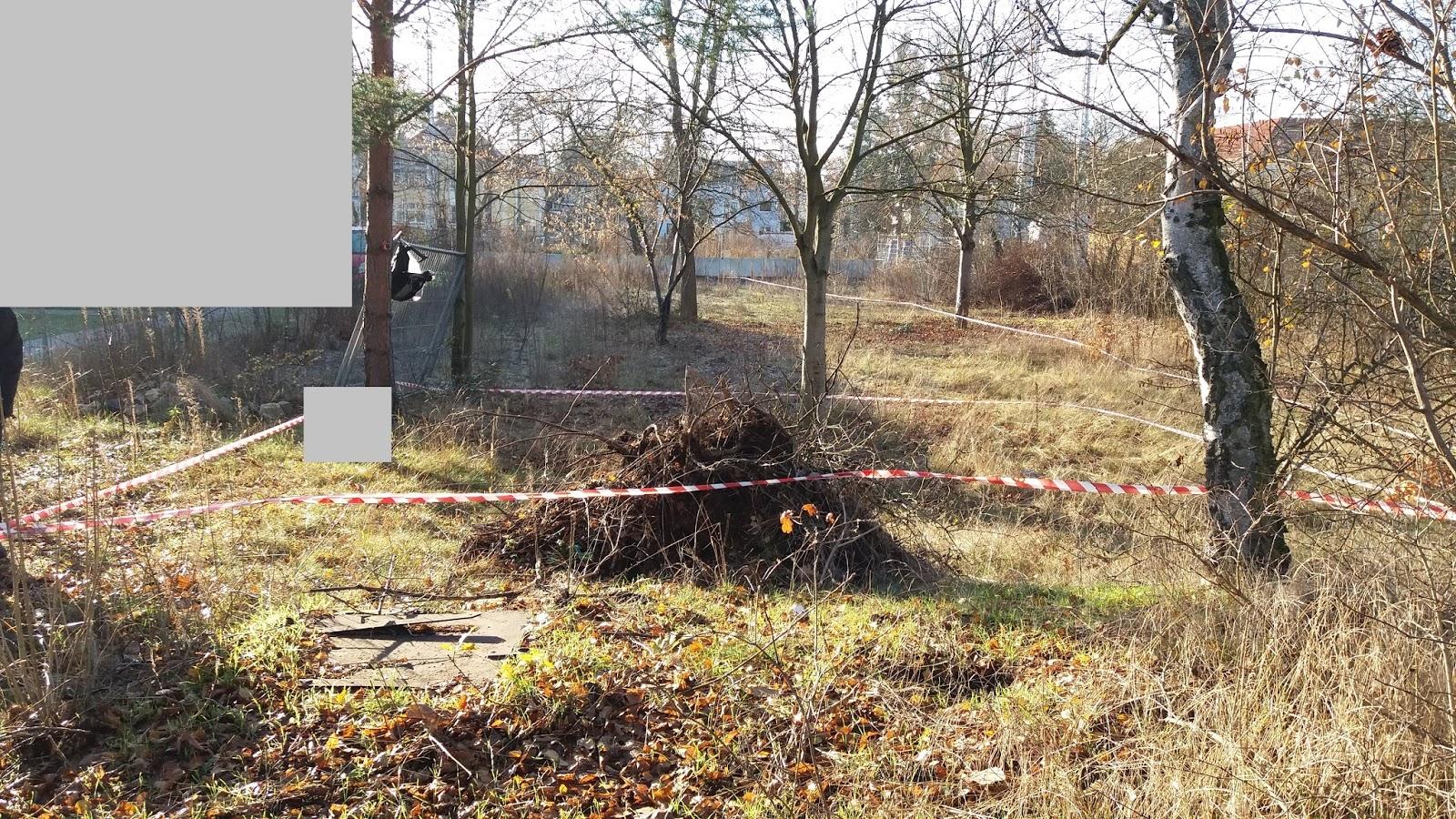 Unsere Stadtvilla In Berlin Grundstucksgrenze Und Haus Abgesteckt