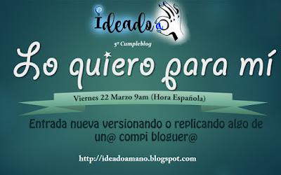 cumpleblog en Ideado a mano