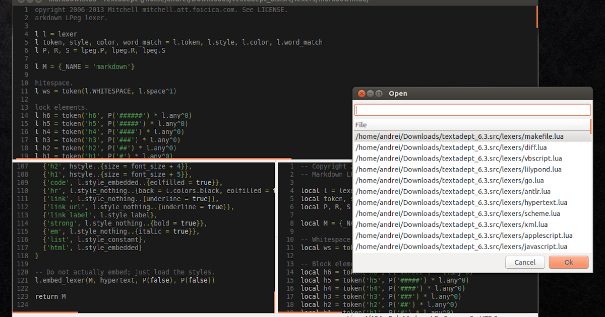 Try TextAdept, A Fast, Cross-Platform Text Editor That Comes