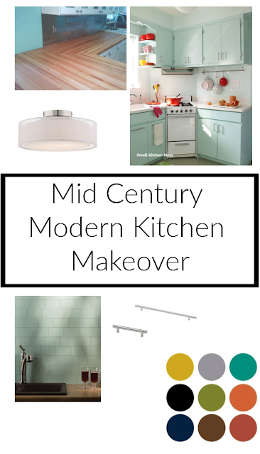 MCM Kitchen Makeover (One Room Challenge)-Week 3