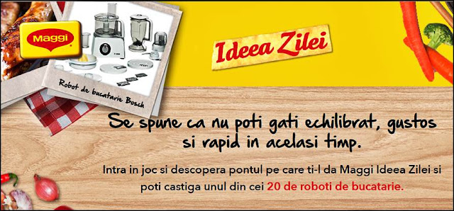 regulament castigatori concurs 2019 maggi idea zilei joc online