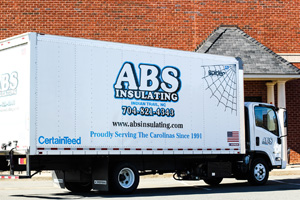 ABS Insulating Truck