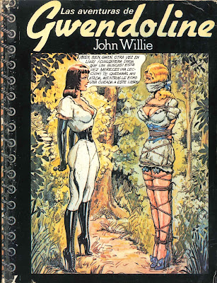 john willie gwendoline comic bdsm sadomasoquismo bondage