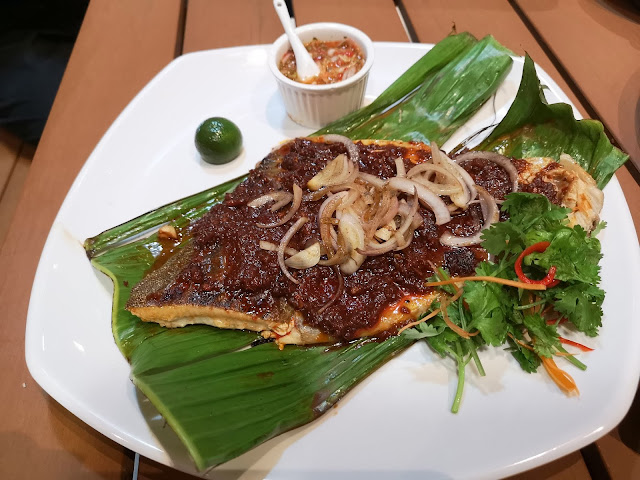 stingray in onion sambal sauce