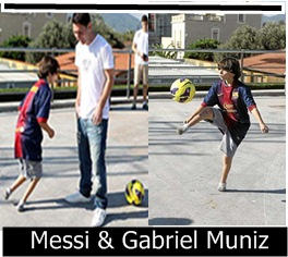 Infokus - Messi and Gabriel Muniz