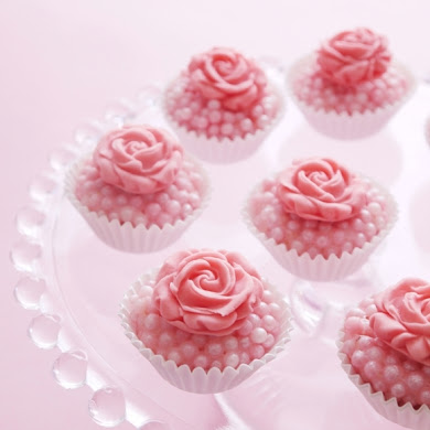 Bejeweled Pink Rose Truffles Recipe