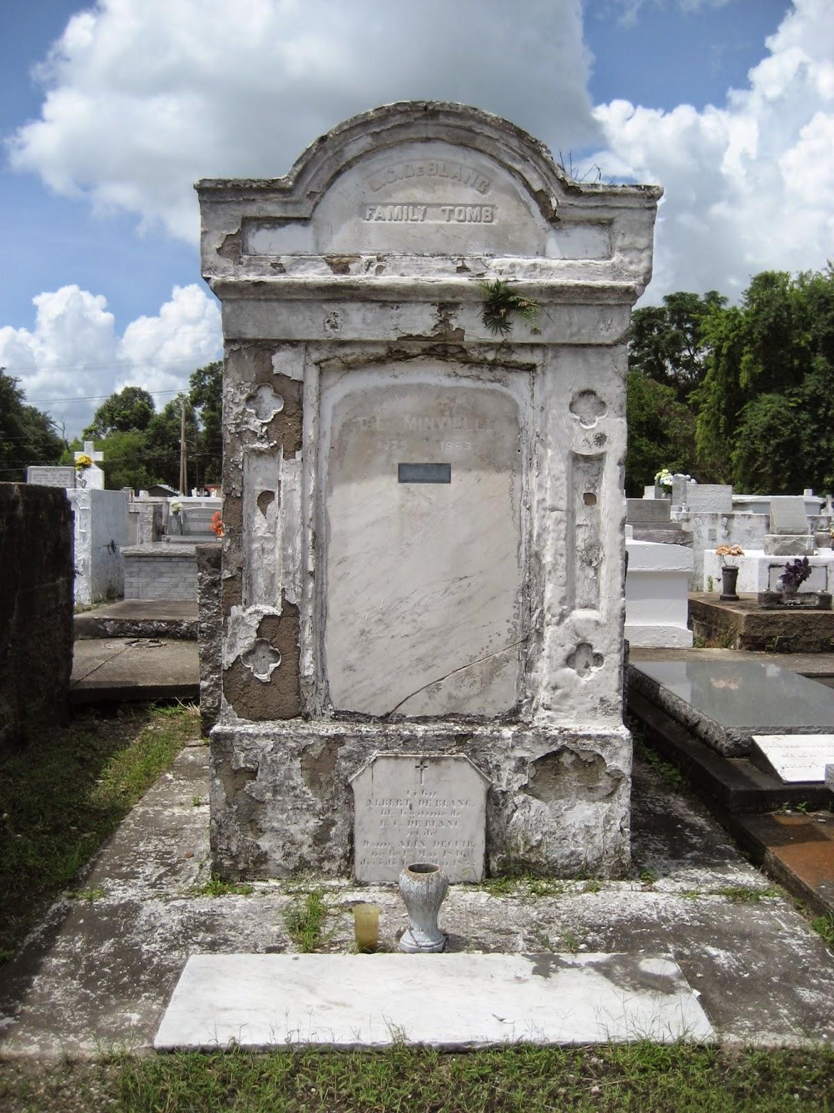 Living Rootless Louisiana New Iberia St Peters Cemetery
