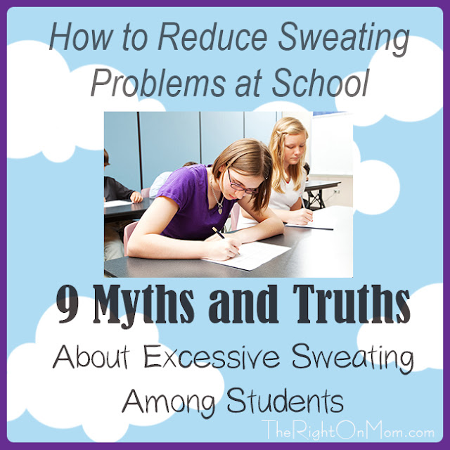 Vegan Mom Blog TheRightOnMom.com: How to Reduce Sweating ...