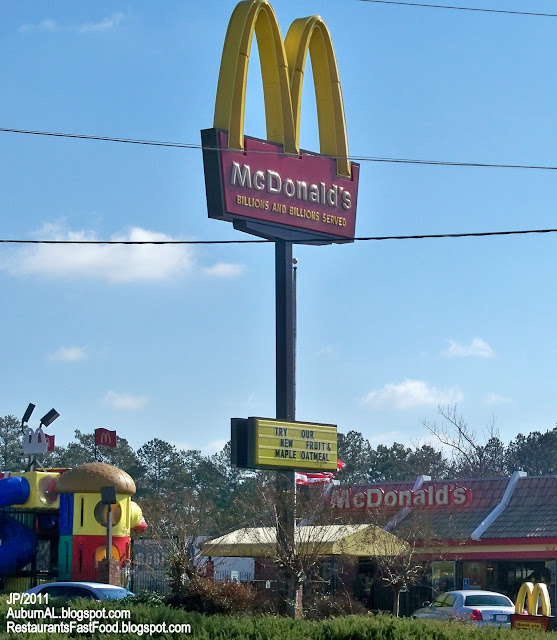 Fast Food Restaurants In Auburn Al