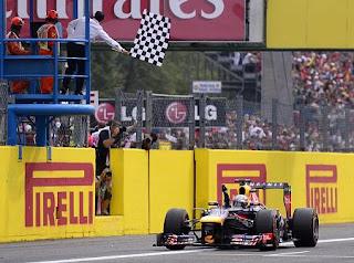 Sebastian Vettel Menang di Monza 2013 (Grand Prix Itali)