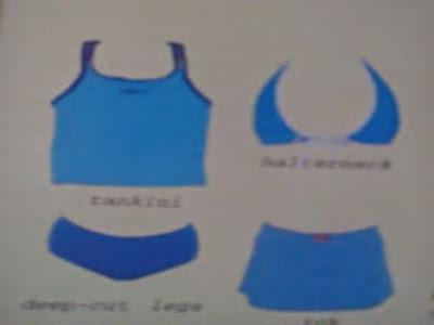 Gambar Cara Memilih Bikini Sesuai Ukuran Dan Bentuk Tubuh