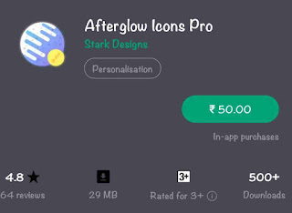Icon Pack AfterGlow Premiuim Apk