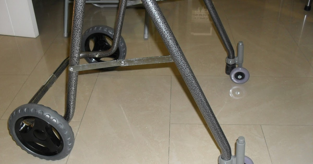 Instalamos ruedas traseras para andadores ortopedia for W de porter ortopedia