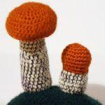patron gratis hongo amigurumi |  free amigurumi pattern mushroom