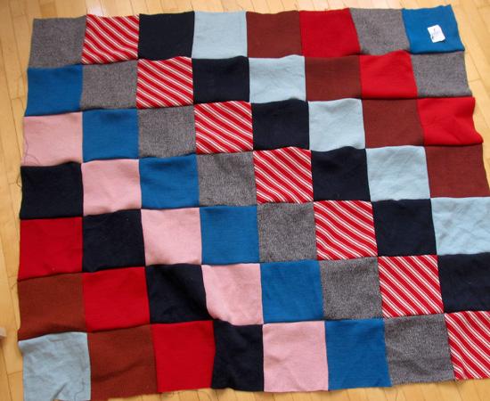 process, лоскутное одеяло