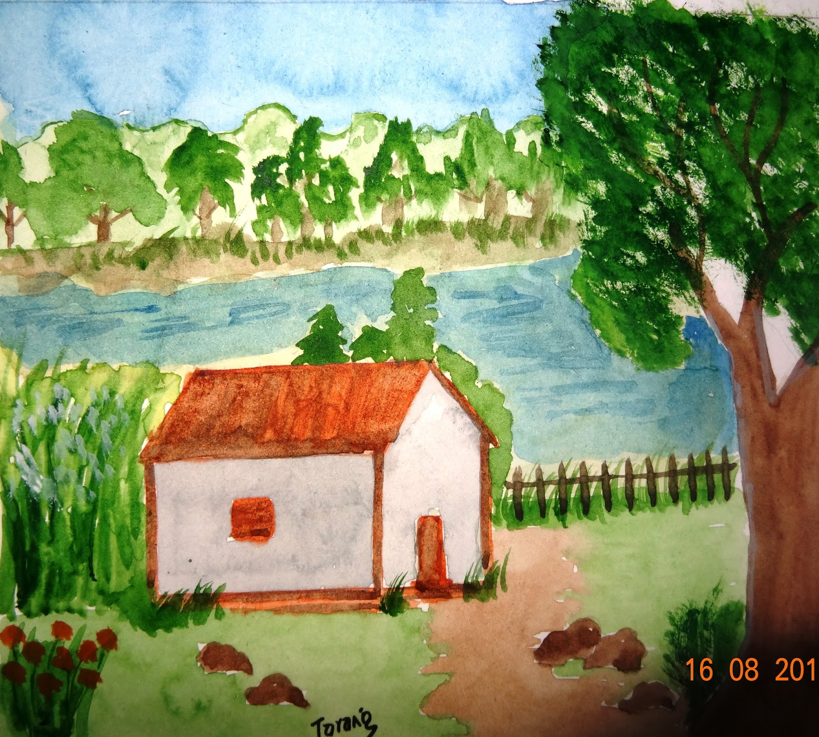 Tarang Watercolour Painting Nature