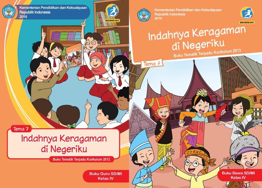 Buku Kurikulum 2013 Sd Mi Kelas 4 Tema 7 Edisi Revisi 2017 Untuk Guru Dan Siswa Dadang Jsn