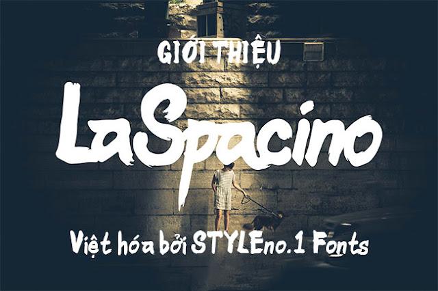 Font việt hóa SVN-LaSpacino