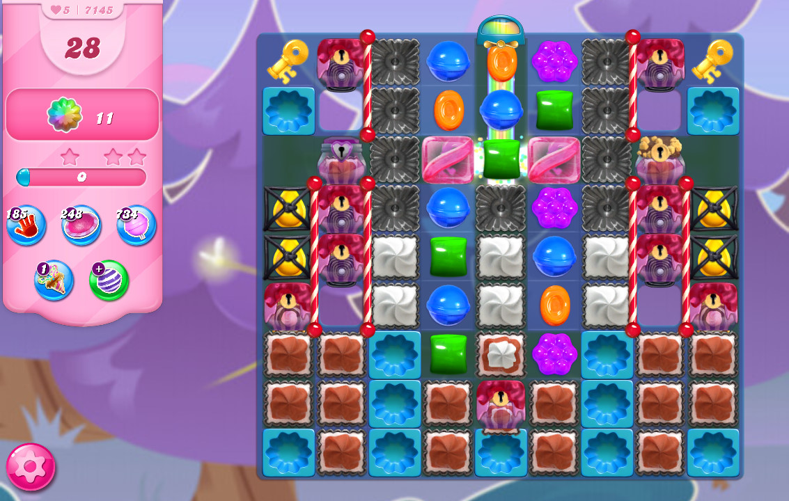 Candy Crush Saga level 7145