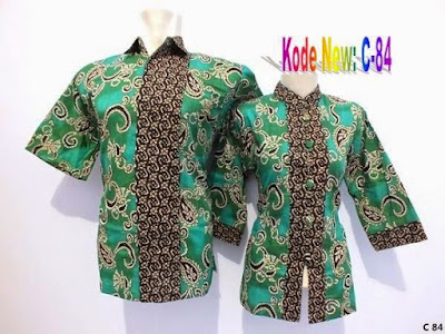 Contoh Gambar Baju Batik Guru Modern