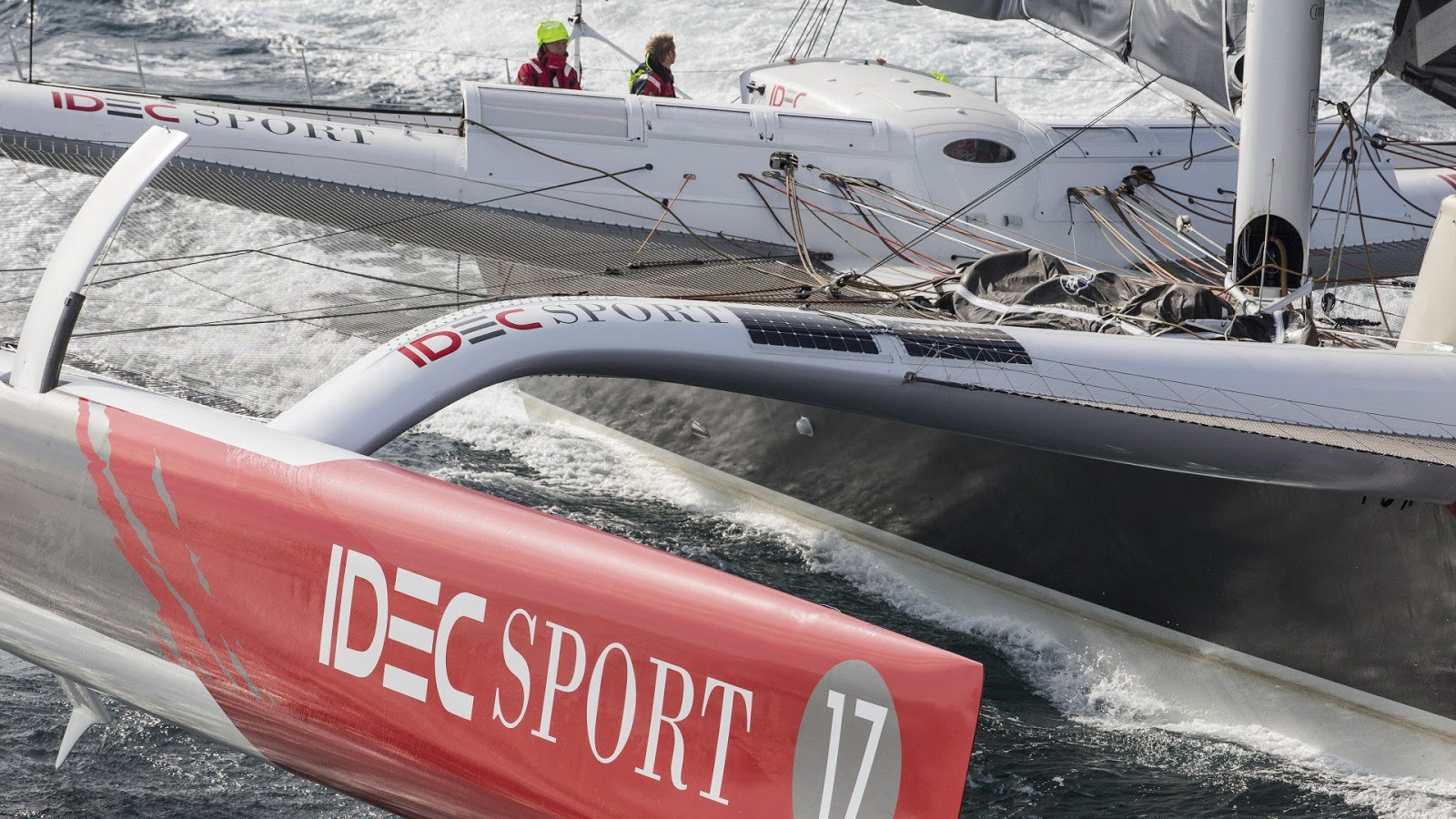 record du monde lors du Trophée Jules Verne