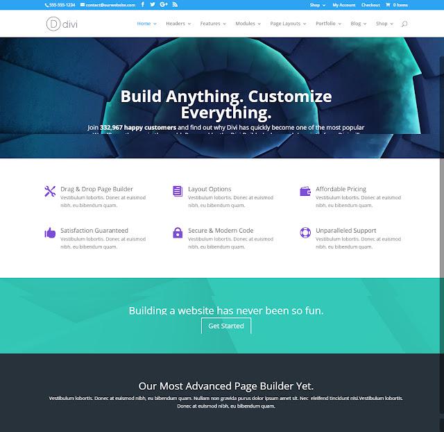 Divi- Powerful WordPress Theme