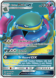 Alolan Muk GX Burning Shadows Pokemon Card