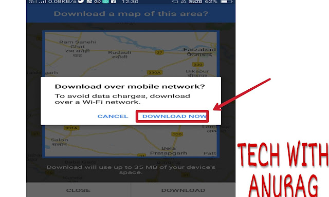 बिना इंटरनेट Google Maps का इस्तेमाल कैसे करें ?