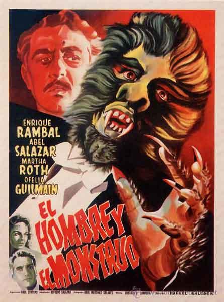 El hombre y el monstruo 1959 / una excepcional película del cine de terror méxicano