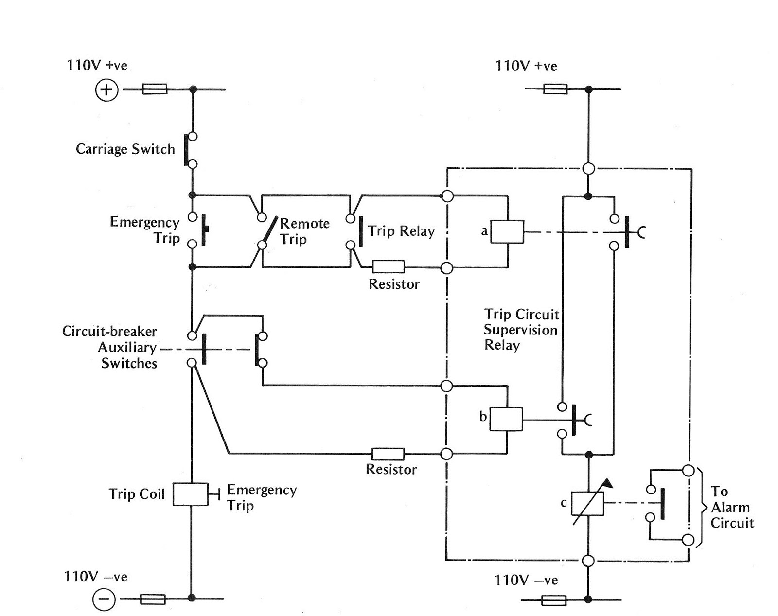 wiring diagram for shunt trip breaker, Wiring diagram