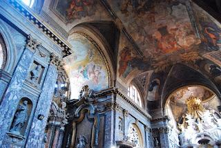 fresques intérieures Scalzi Venise