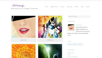 Whitemagic Blogger Templates