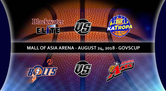 List of PBA Games: August 24 at Mall of Asia Arena 2018 PBA Governors' Cup