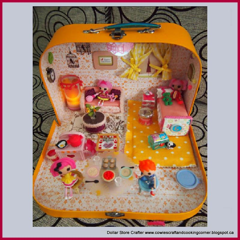 Turn An Old Lunch Box Into A Lalaloopsy Dollhouse
