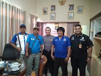Pengurus DPC-KWRI Pesawaran Silaturahmi Dengan Kapolres Pesawaran